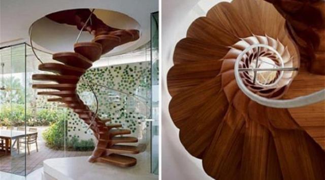 بالصور: أفكار عصرية لديكور السلالم في المنزل