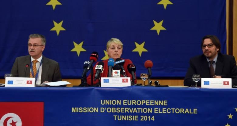 بعثة الاتحاد الأوروبي لمراقبة الانتخابات تعزز أعمالها في تونس