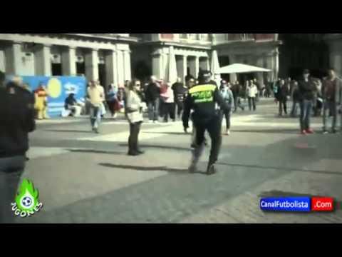 اعتقال شخص بسبب مراوغة شرطي