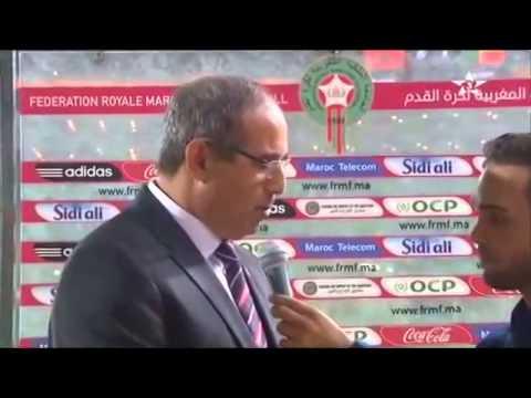 تصريح بادو الزاكي بعد الفوز