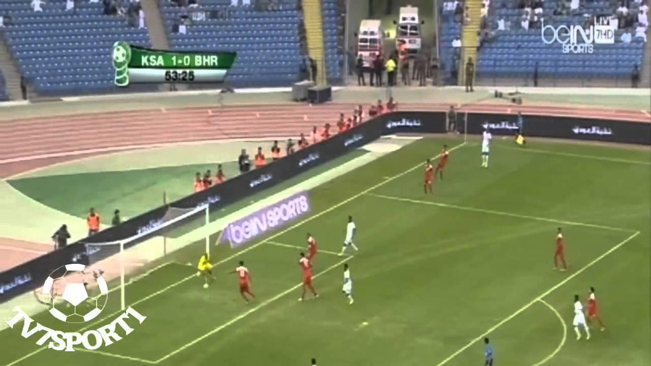السعودية والبحرين 3-0