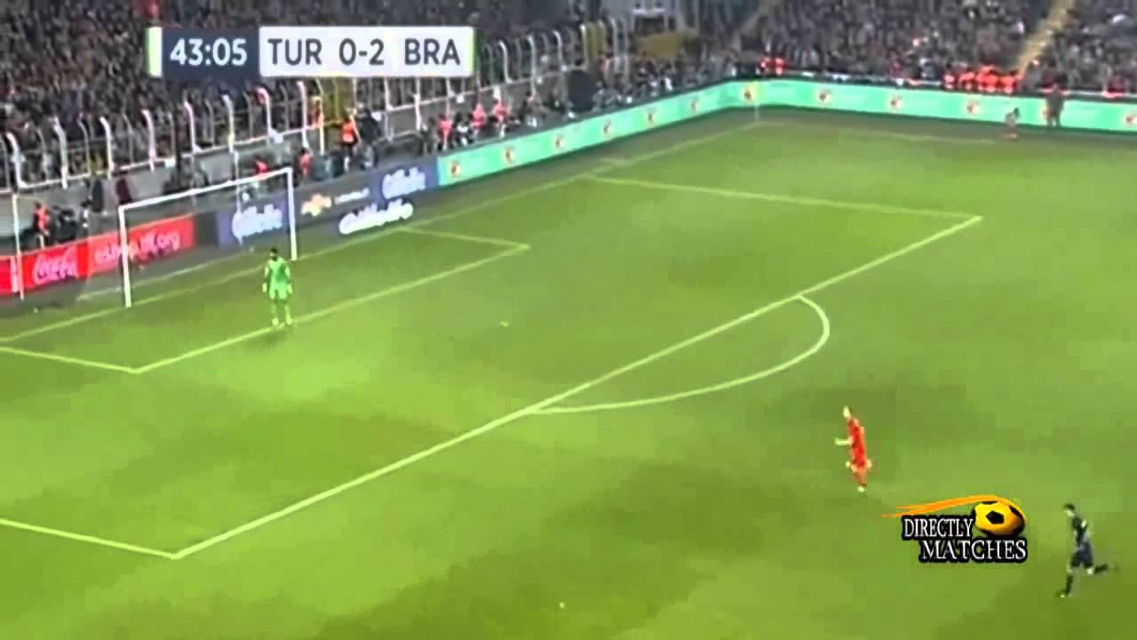 البرازيل وتركيا 4-0