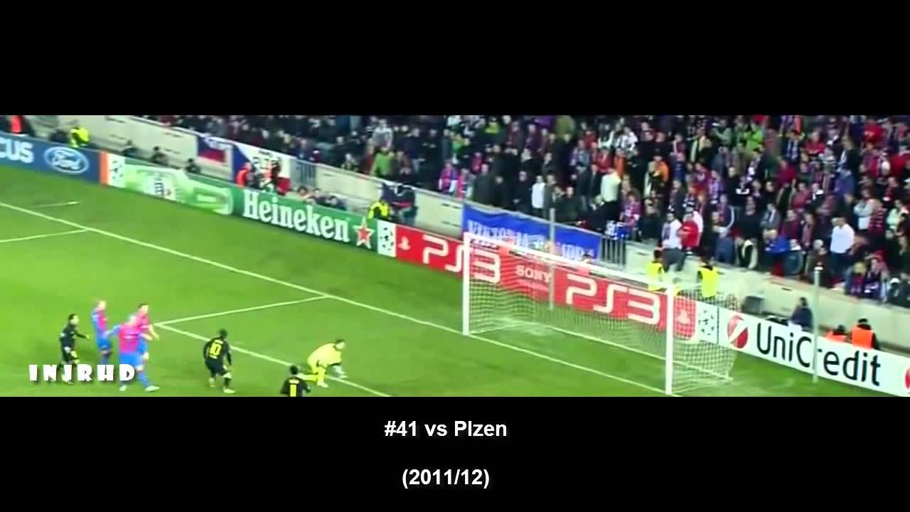 أهداف ميسي الـ71 في أبطال أوروبا