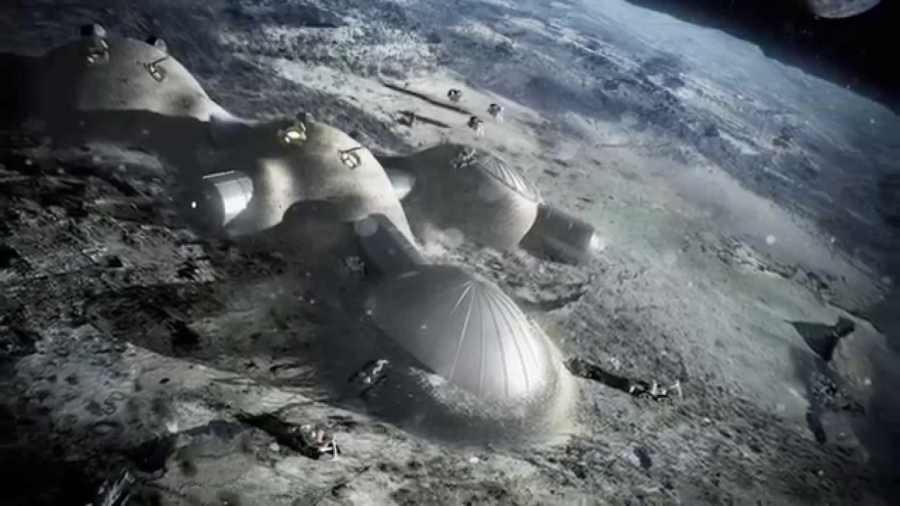 إنشاء أول منازل للبشر على القمر