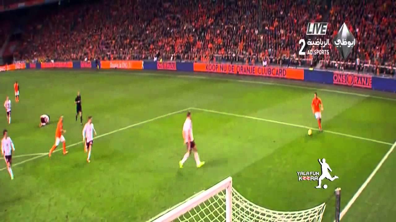 هولندا ولاتفيا 6-0