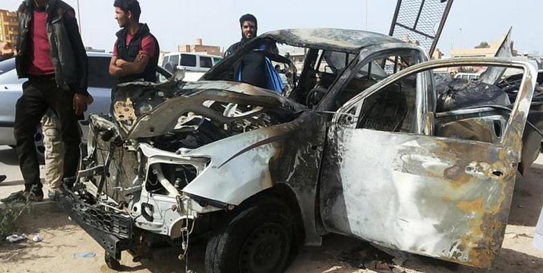 انفجاران قرب سفارتي مصر والإمارات بطرابلس