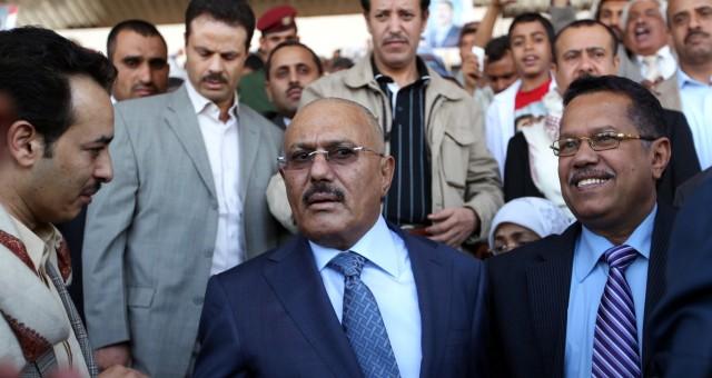 هل ينوي عبد الله صالح مغادرة اليمن؟