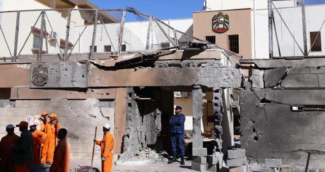 الخارجية الليبية تدين استهداف التمثيليات الدبلوماسية ببلادها
