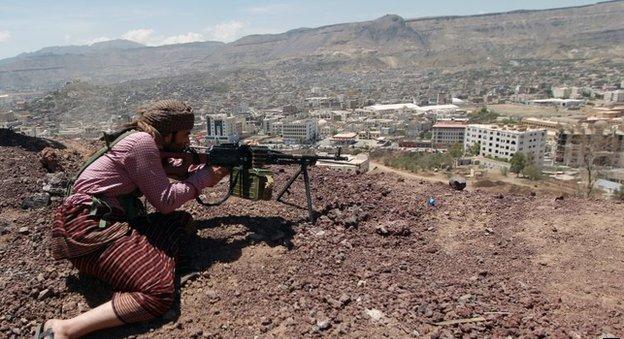 الحوثيون يحشدون لمواجهة القاعدة في اليمن