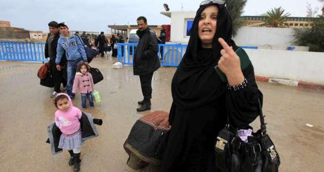 100 ألف ليبي غادروا منازلهم في أكتوبر بسبب القتال