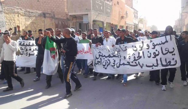 تصاعد الاحتجاجات بالجامعات الجزائرية مطالبة بانقاذها من التهميش