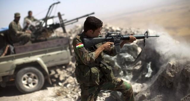 البيشمركة تخوض أولى معاركها في كوباني
