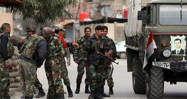 الجيش السوري يستعيد حقل الغاز بحمص