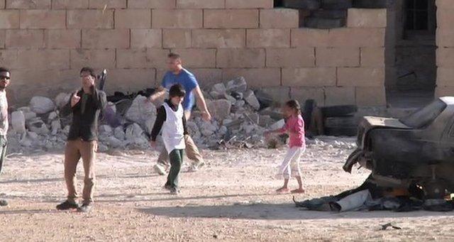 فيديو الطفل السوري