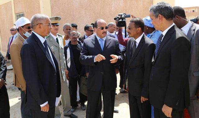 ولد عبد العزيز يترأس الوفد الافريقي لحل أزمة بوركينافاصو