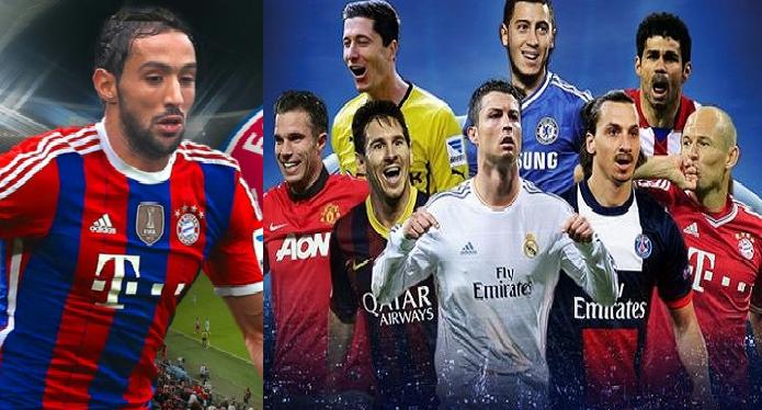 بنعطية في قائمة أربعين لاعبا الأفضل بأوروبا