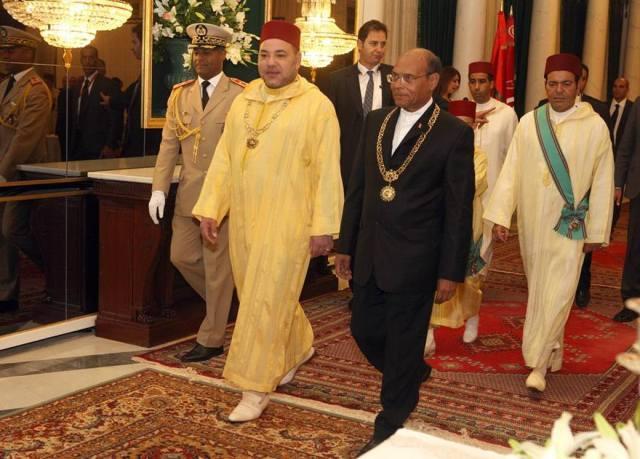 الرئيس التونسي يعزى العاهل المغربي في ضحايا فيضانات الجنوب