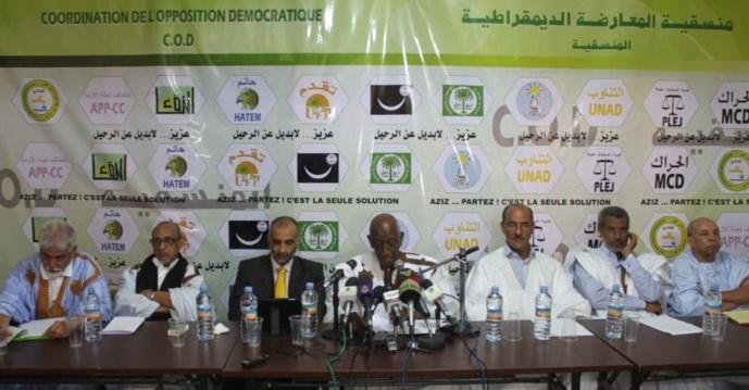 خلافات شديدة داخل المعارضة الموريتانية بعد تنصيب زعيم جديد