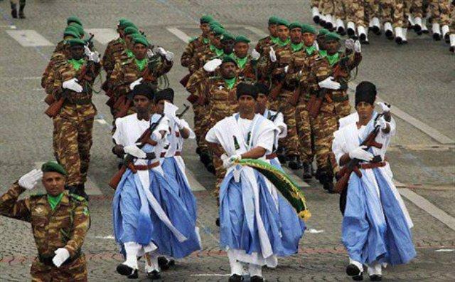 احتفالات عسكرية بذكرى عيد الاستقلال في المدن الموريتانية