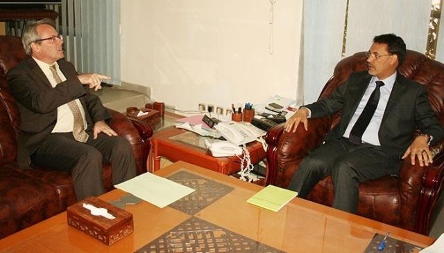 سفير فرنسا يلتقي بأعضاء الحكومة الموريتانية من أجل تعزيز العلاقات