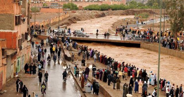 تساقطات مطرية غزيرة بلغت 230 ملم في عدة مناطق بجنوب المغرب