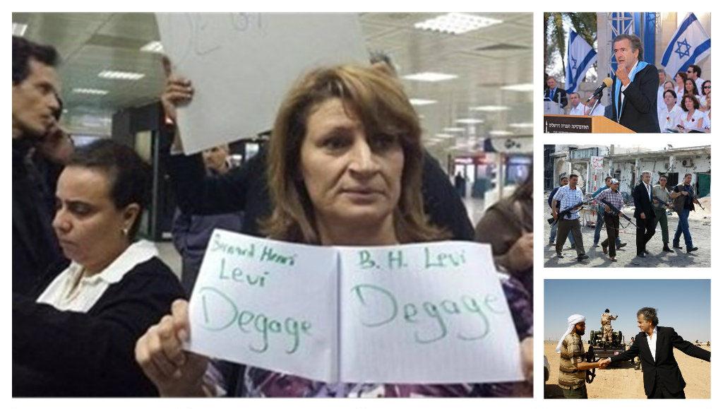 طرد عرّاب الحروب الأهلية برنارد ليفي من تونس ظهر اليوم