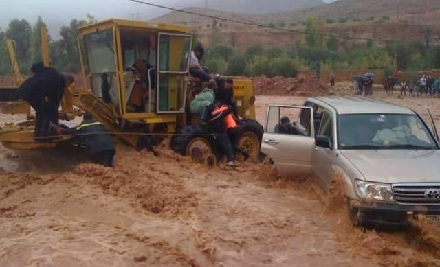 الارصاد الجوية تحذر المواطنين المغاربة من التواجد قرب قرب الأودية والمنحدرات والشواطيء