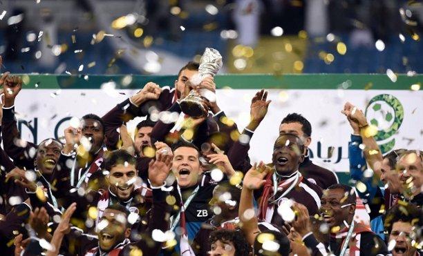 قطر تتوج بلقب خليجي 22 أمام السعودية