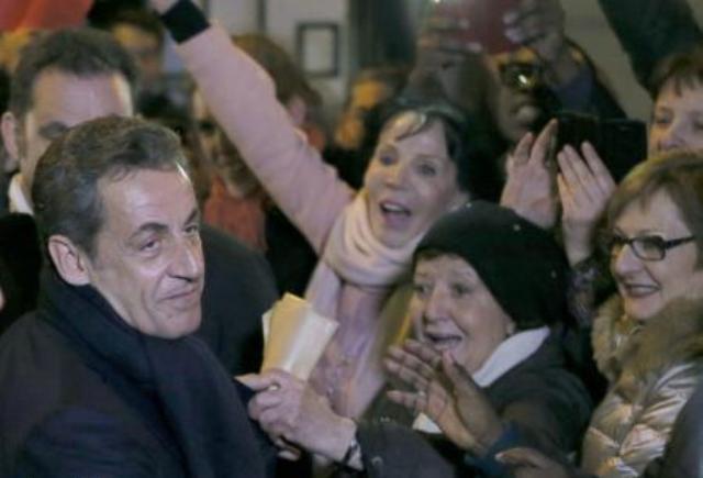 ساركوزي زعيما سياسيا لحزب الاتحاد المحافظ