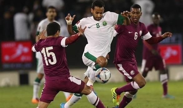 التعادل بين السعودية وقطر يرضي لوبيز وبلماضي