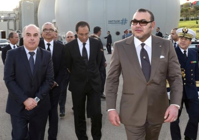 العاهل المغربي  يدشن محطة تصفية المياه العادمة لمدينة فاس