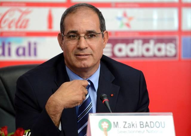 الزاكي يقدم تقريرا شاملا للجامعة عن المنتخب