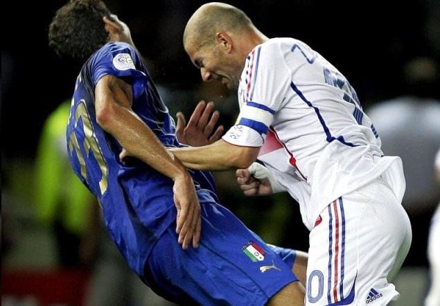 ماتيرازي يساند زيدان رغم نطحة مونديال ألمانيا