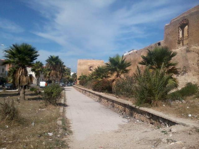 اكتشاف برج مطمور بالأتربة بمدينة أزمور في المغرب