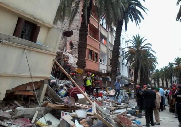 4 قتلى في انهيار أربع منازل بمدينتي اسفي والدار البيضاء بسبب الأمطار الغزيرة