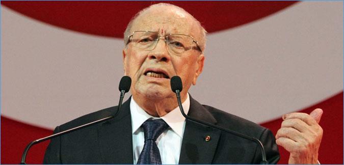 السبسي:لن نحكم البلاد لوحدنا و رئيس الحكومة لن يكون من وزراء بن علي