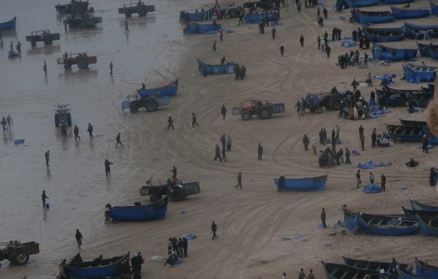 مهنيو الصيد البحري في المغرب يطالبون بإشراكهم في صياغة القوانين المتعلقة بالقطاع
