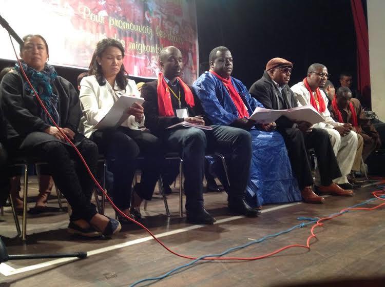 تنظيم المؤتمر الثاني للمنظمة الديمقراطية للعمال المهاجرين في الرباط