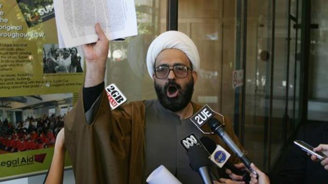 محتجز الرهائن في استراليا لاجيء إيراني