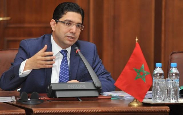 ناصر بوريطة يستقبل السفير الجديد للجزائر