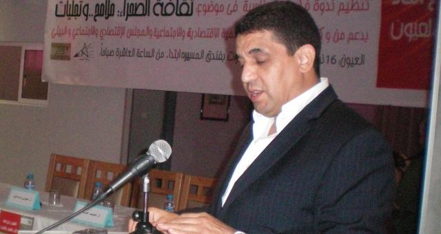 اختيار رئيس اتحاد كتاب المغرب شخصية السنة الثقافية