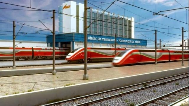 إغلاق محطة القطار طنجة بسبب توسيع السكك في إطار مشروع الخط فائق السرعة