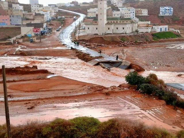 إطلاق حملة في إسبانيا لمساعدة ضحايا الفيضانات بالجنوب المغربي