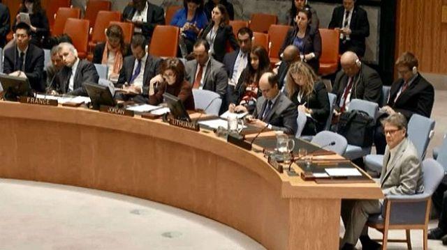 تقديم مشروع القرار الفلسطيني إلى مجلس الأمن