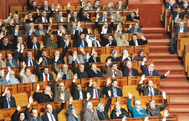 مجلس النواب المغربي يصادق بالأغلبية على مشروع قانون المالية 2015