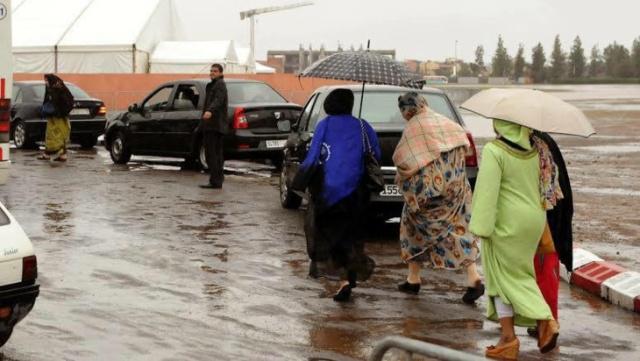 تساقطات مطرية متوقعة يوم غد الأربعاء في هذه المناطق