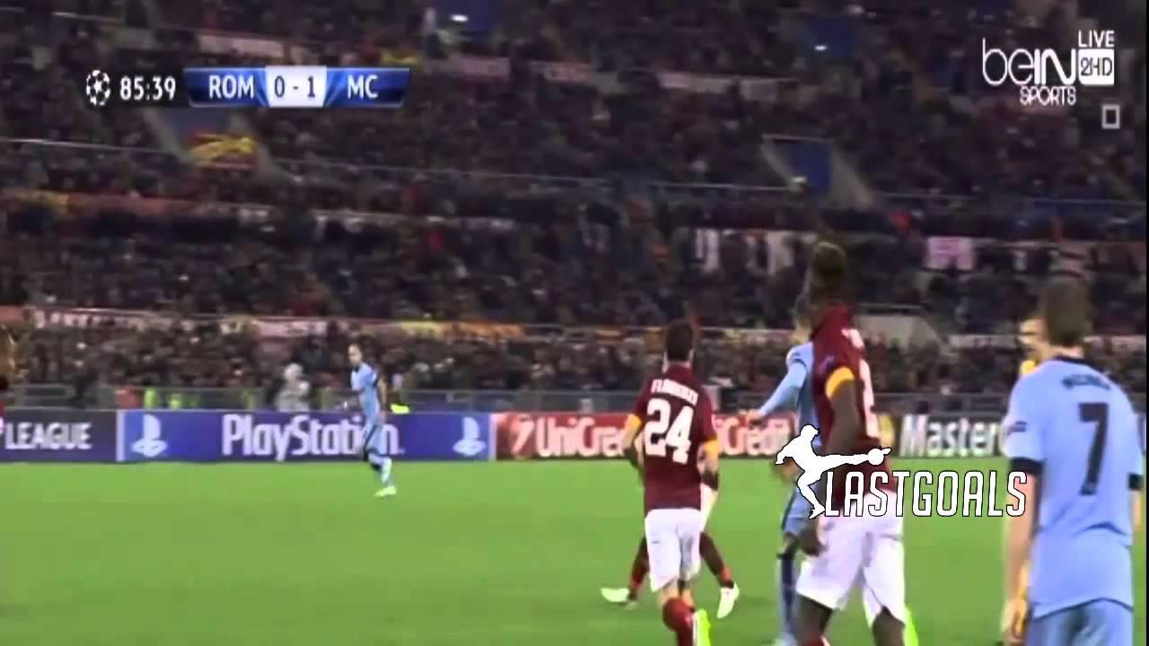 روما 0-2 مانشستر سيتي