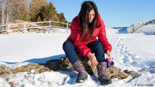 ثماني نصائح لأقدام دافئة في الشتاء