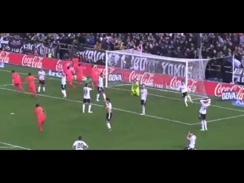 برشلونة و فالنسيا 1-0