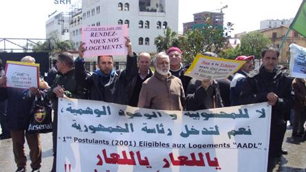 الجزائر..النهضة تعتبر استعمال الأمن لردع المحتجين دليلا على فشلها في التحكم في الوضع